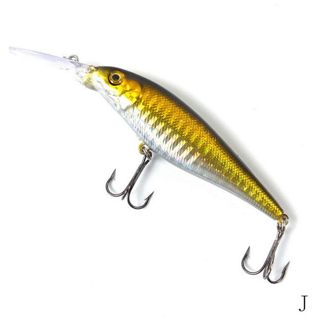 11cm 10.5g Minnow Fishing lures Bass  4#hook