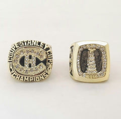 2pcs 1986 1993 Montreal NHL Stanley Cup Champ Ring