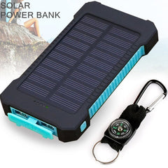 Solar Power Bank Dual USB  20000mAh