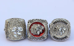 2010 2013 2015 Chicago Blackhawks champ rings