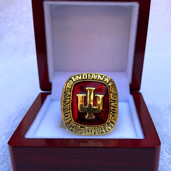 1976 Indiana Hoosiers Champ Ring