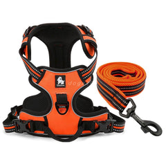 High Quality No-Pull Dog Harness and Leash Set Reflective Padded Outdoor