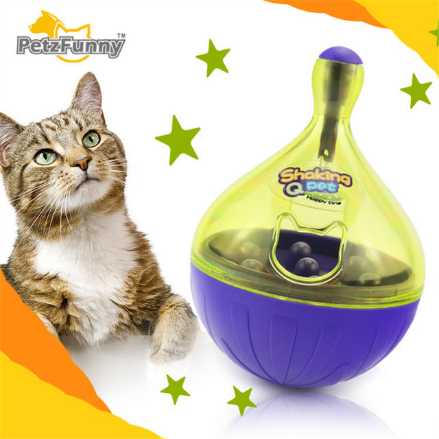 Tumbler Dog Toys Food Hide Ball Toys Dog Interactive Ball Dog Puzzle Toys Shaking Food Leakage Toys Feeder Pet Accessories