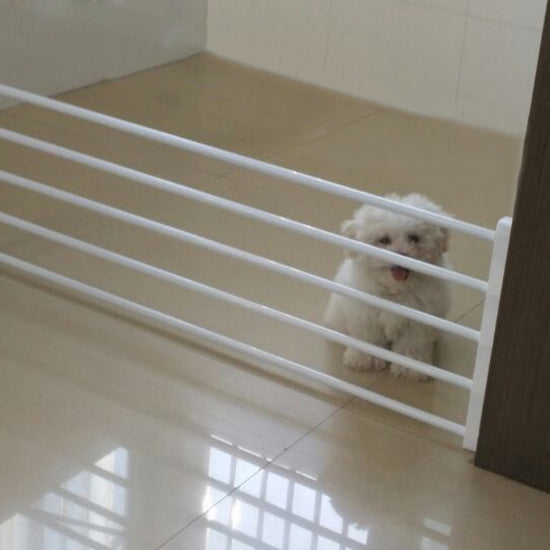... Playpen For Dogs Pets Indoor Retractable Pet Isolating Gate Room  Plastic Dog Fence Baby Safety Gate ...