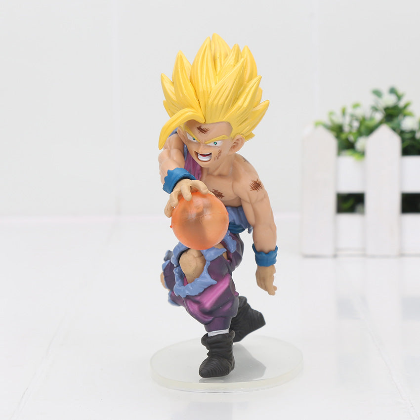 12cm Dragon Ball Z Toy Dramatic Showcase Son Goku Gohan PVC Figures Model Toys