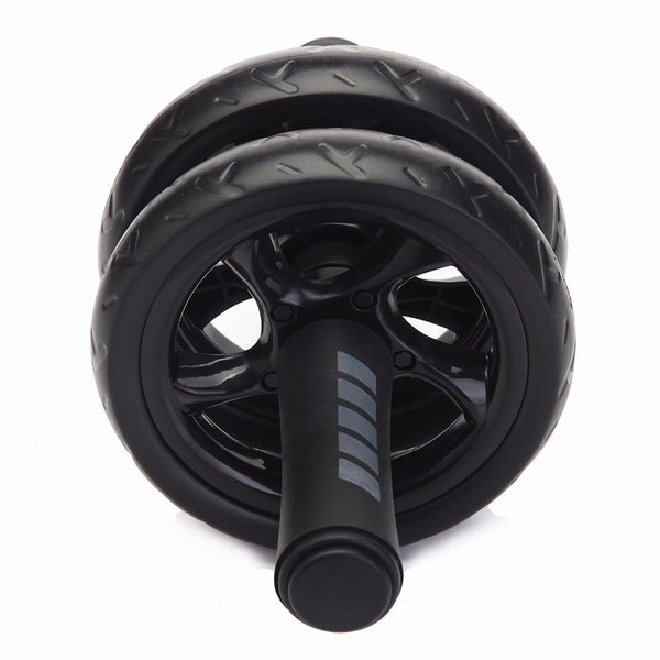 2017 Brand New No Noise Abdominal Wheel Ab Roller With Mat For Exercise Fitness Equipment