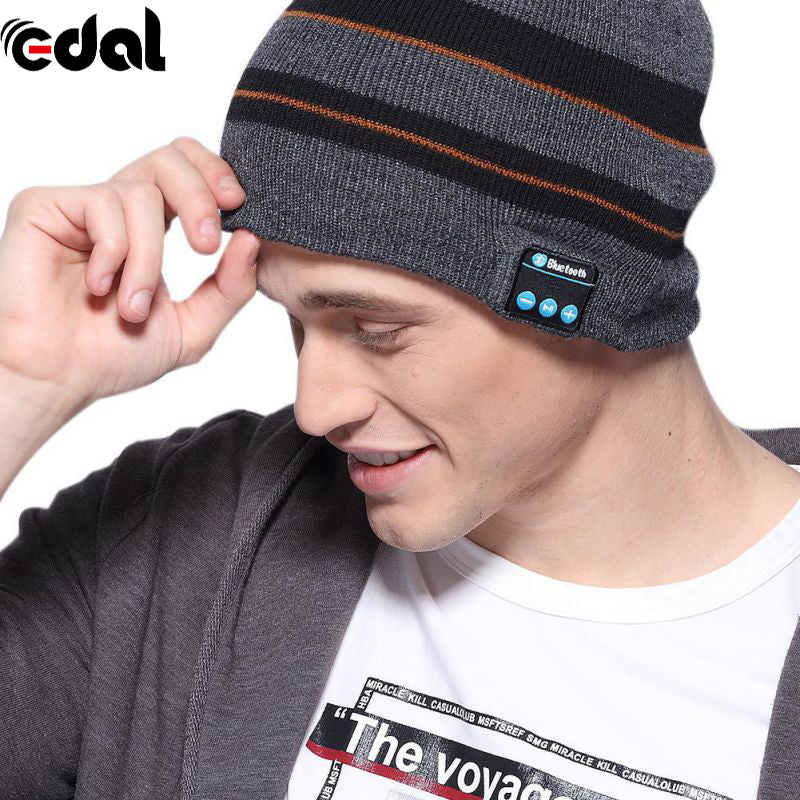 20-20KHZ Fashion USB Smart Bluetooth 4.1 Wireless Music Cap Headphone Headset Speaker Magic 3.7V Hat