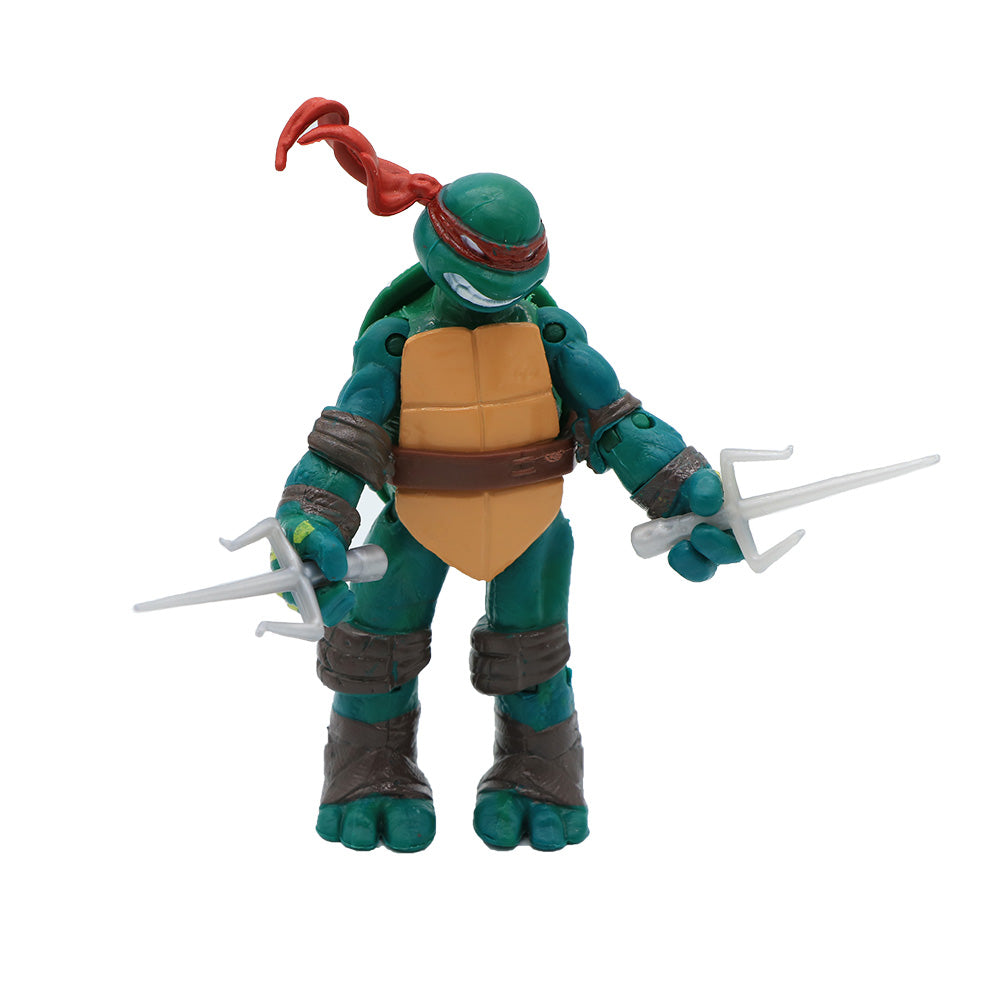 4 Pcs/Pack New Mutant Turtles Movie Out Of The Shadows Leonardo Raphael Michelangelo Donatello Action Figure Toys