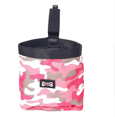 Pet Dog Pouch Bag Walking Food Container Reward Your Dog For Being Quiet