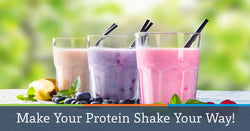 Make Your Protein Shake Your Way