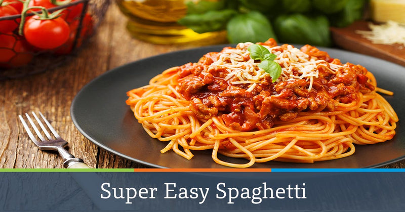 Super Easy Spaghetti