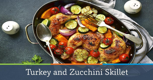 Turkey and Zucchini Skillet