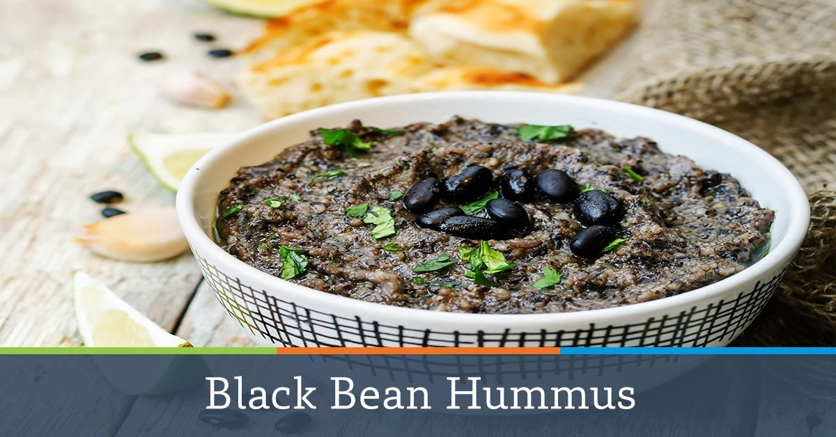 Homemade Black Bean Hummus