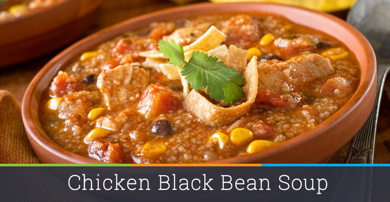 Chicken Black Bean Soup