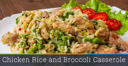 Chicken Rice and Broccoli Casserole