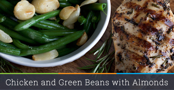 Chicken and Green Beans with Almonds