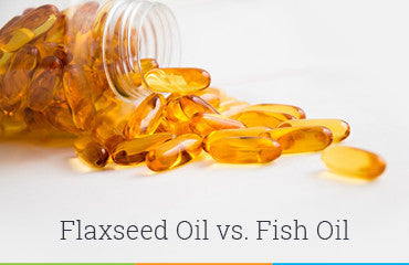 Flaxseed Oil vs. Fish Oil – What Do You Really Need?