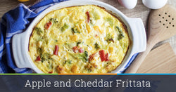 Apple and Cheddar Egg Frittata