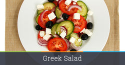 Greek Feta Salad with Peppers and Olives