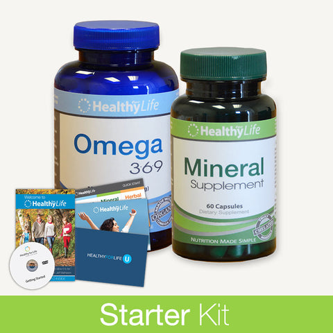 Starter Kit - Essential Nutrition Pack (1 Month)
