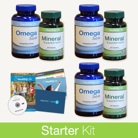 Starter Kit - Essential Nutrition Pack (3 Month)