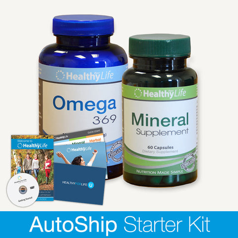 Starter Kit - Essential Nutrition Pack (Monthly)