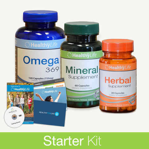 Starter Kit - Nutrition Plus Pack (1 Month)
