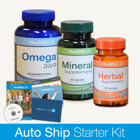 Starter Kit - Nutrition Plus Pack (Monthly)