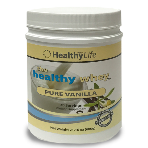 The Healthy Whey Protein - Vanilla - 21oz.