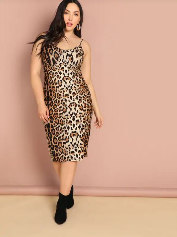So Leopard Dress - PLUS