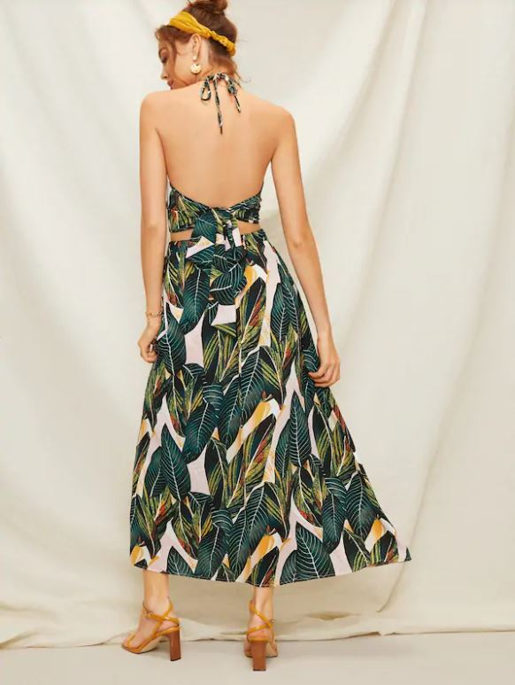 Unbe-LEAF-able Two Piece