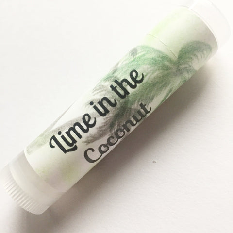 Lime in the Coconut Lip Balm