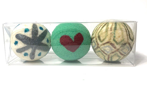 Holiday Bath Bombs