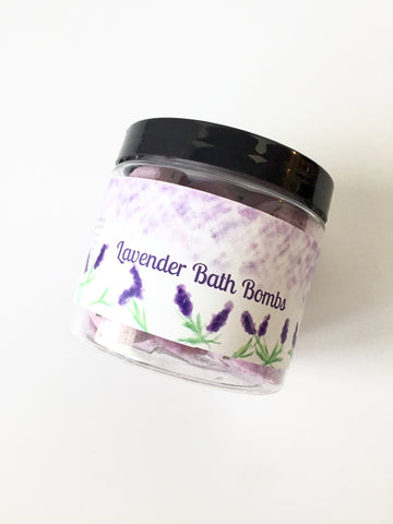 Lavender Mini Bath Bombs