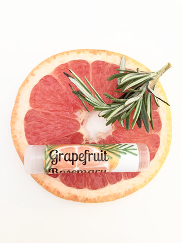 Grapefruit Rosemary Lip Balm