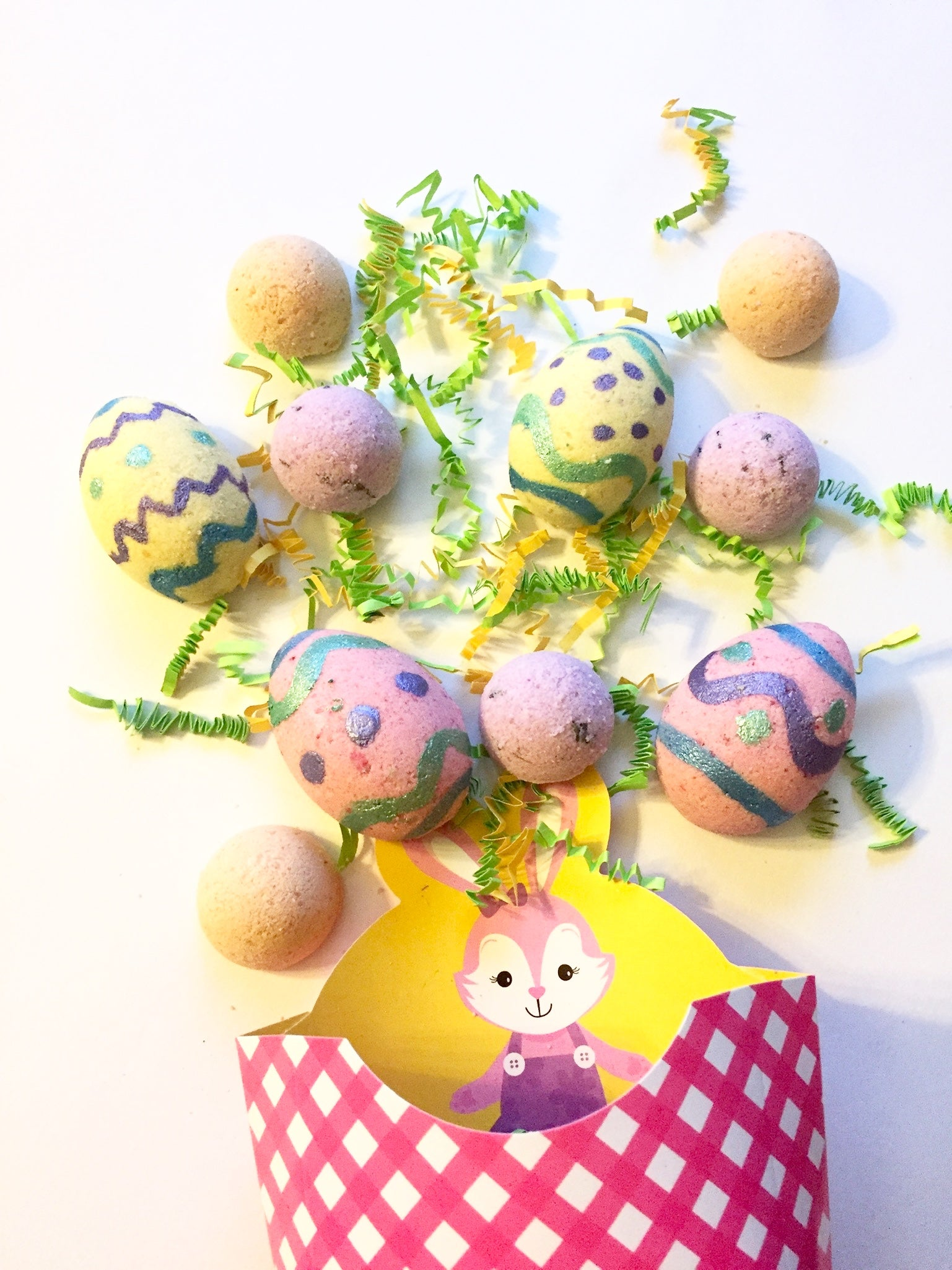 Bath Bomb Easter Basket