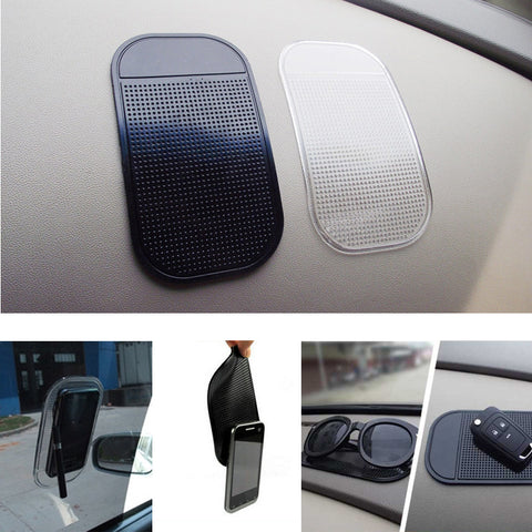 Organize Quick with 1pc Car Dashboard Sticky Pad Silica Gel Anti Slip Holder