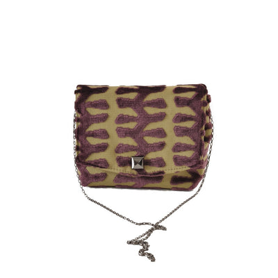 Totem Green square clutch