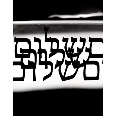 Mens Fashion T-Shirt - Shalom Print