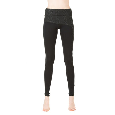 Asymmetrical leggings