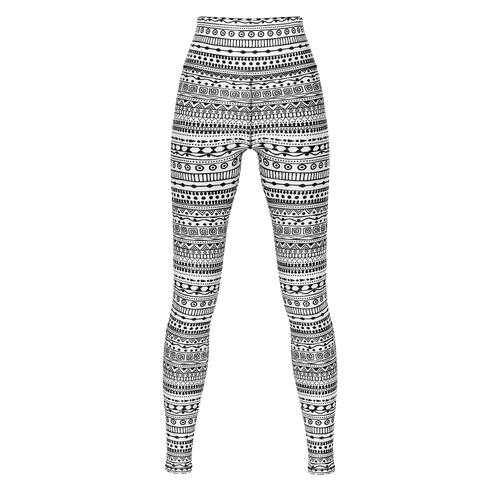 Print Wars Yoga Pants