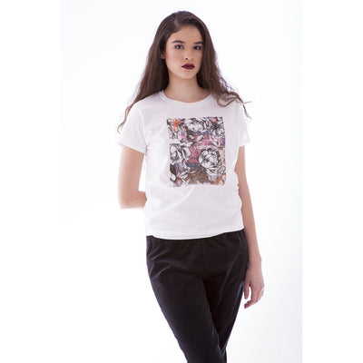 Women's Fashion T-Shirt - City Gardens