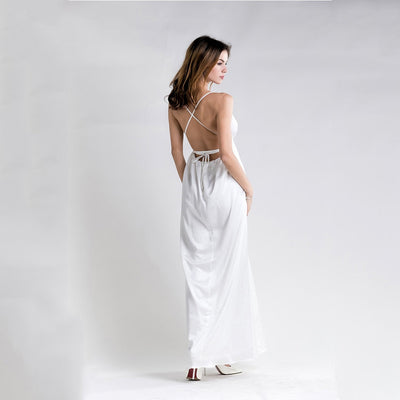 Sleeveless Sexy Maxi Dress