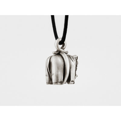 Elephant Pendant in Sterling Silver
