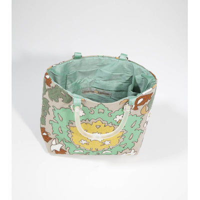 Bohemian Green Small Tote