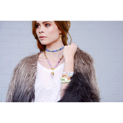 St Tropez Necklace (neon)