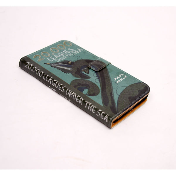 20,000 Leagues phone flip case wallet for iPhone and Samsung