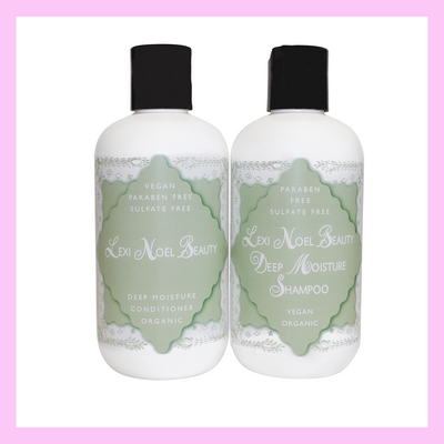 Lexi Noel Beauty Organic Vegan Shampoo and Conditioner Set **BACK IN STOCK**