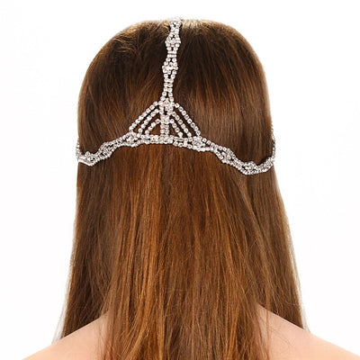 Rhinestone Chain Headpiece