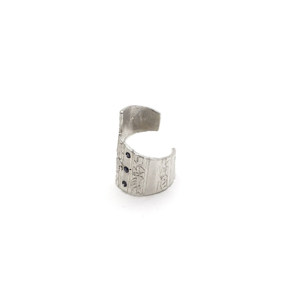 Asymmetric Ring-Silver